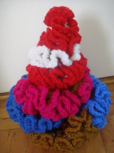 4295 Scrappy Yarn Projects