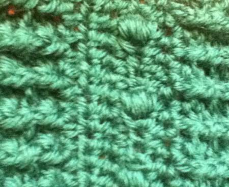 bullion crochet WIP Wednesday: Bullions and Post Stitches