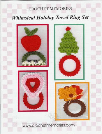crochet book1 Christmas Crochet Patterns from Crochet Memories