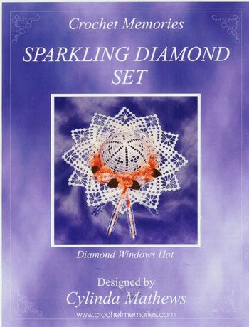 sparklingdiamondset Christmas Crochet Patterns from Crochet Memories