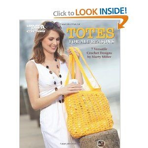crochet book2 Crochet Book Review: Totes for All Reasons
