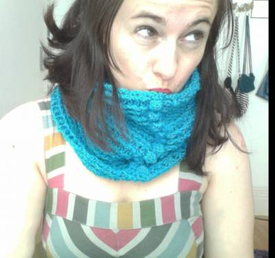 crochet cowl2 Crochet Writing, Commissions, Art and More from Kathryns Crochet Corner