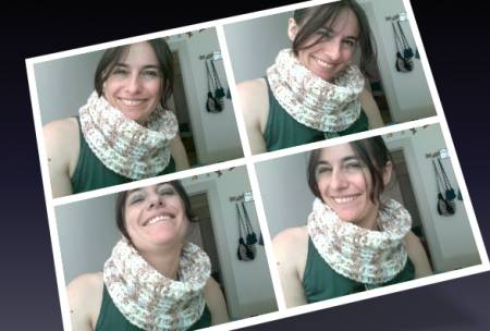 crochet cowl3 Yarn Review: Bernat Baby Jacquards