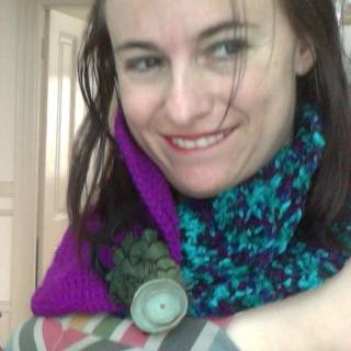 crochet cowl4 Google Plus, Granny Squares and More from Kathryns Crochet Corner