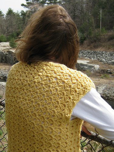 crochet patterns Anika Vest Pattern Giveaway + Designer Interview