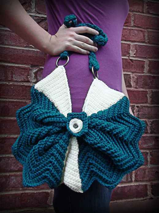 Free Crochet Patterns Handbags : crochet purse
