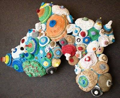 eco friendly crochet Crochet Recycling / Upcycling and Other Green Ideas for Earth Day!