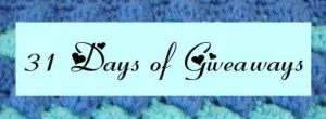 giveaway 300x110 31 Days of Crochet Giveaways Starts Tomorrow