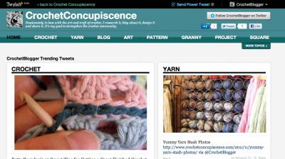 twylah crochet My Twlyah Is Like a Blog of Tweets About Crochet