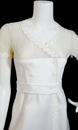 courreges crochet Designer Crochet: The 50 Famous Fashion Designers Project