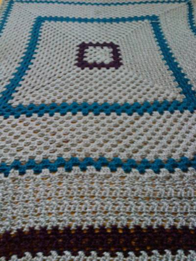 crochet blanket My Crochet: Silk Bamboo Large Granny Blanket
