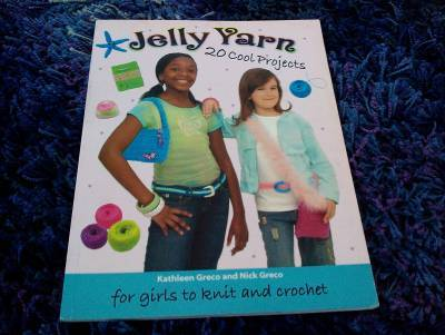 crochet book Giveaway Day 4: Jelly Yarn Project Book