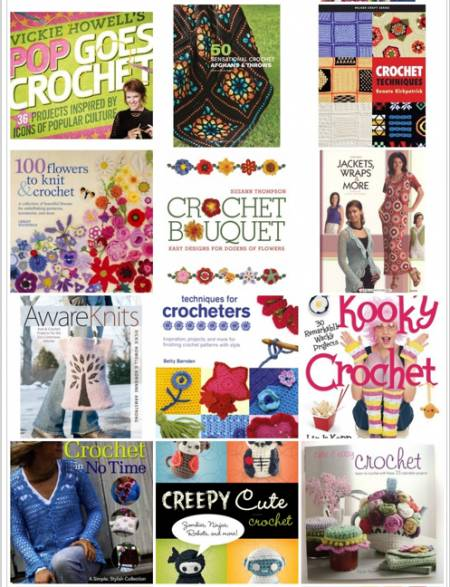 crochet books 2 25 Crochet Books for Information and Inspiration