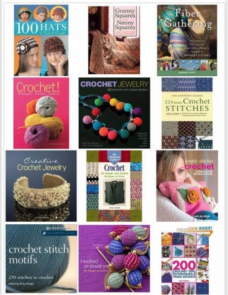 crochet books 2011