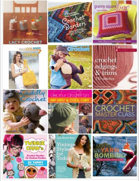crochet books 3 625 Crochet Things to Inspire You!