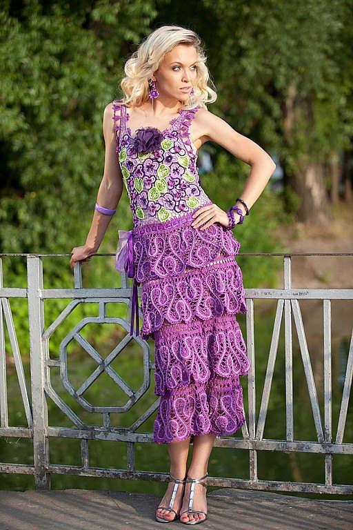 Crochet Dress : crochet dress