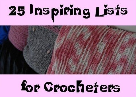 crochet inspiration Then and Now in Crochet (8/26   9/8)