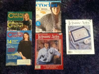 crochet magazines Day 27 Giveaway: Magazine DeStash