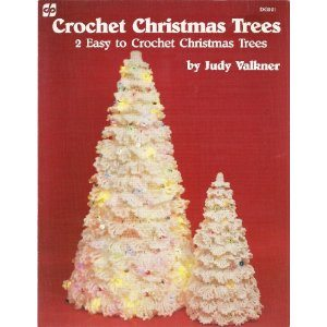 Free Crocheted Cotton Thread Christmas Patterns, Christmas Tree
