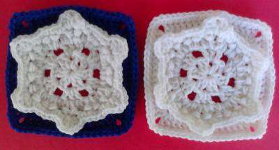 crochet squares Snowflakes! An Etsy Treasury and 5 Free Crochet Patterns