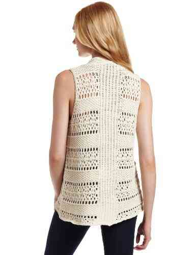 crochet sweater vest Designer Crochet Project: Calvin Klein