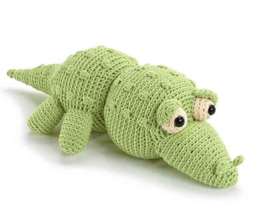 crochet toy 500x442 Crocheted Softies Blog Tour, Review and Signed Book Giveaway!