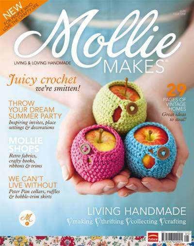 mollie makes Then and Now in Crochet (12/2   12/15)