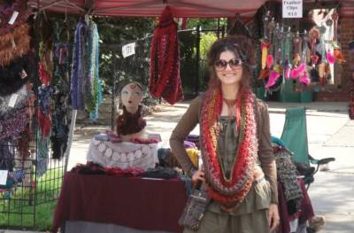 starlily creations crochet Crochet Artist and DJ Jennifer Xerri