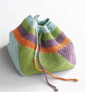 swirling crochet bag Year of Projects: Next Crochet Bag Finished