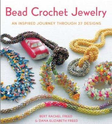 bead crochet jewelry book