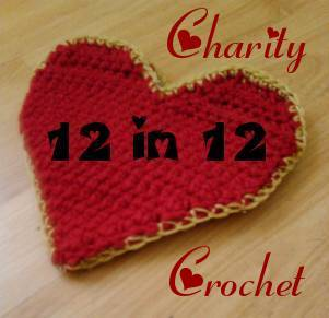 charity crochet 12 in 12 Charity Crochet: February Donation