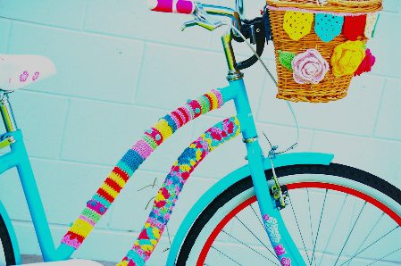 crochet bike This Weeks Crochet Link Love