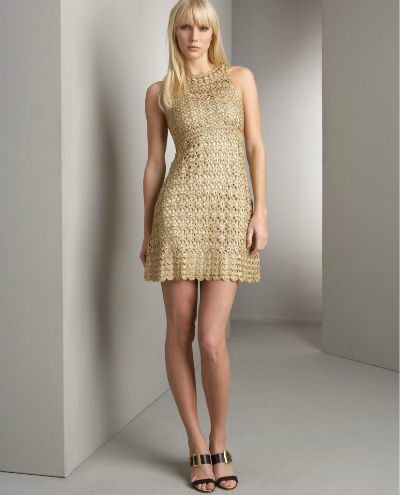 crochet dress2 Top 10 Designer Crochet Items