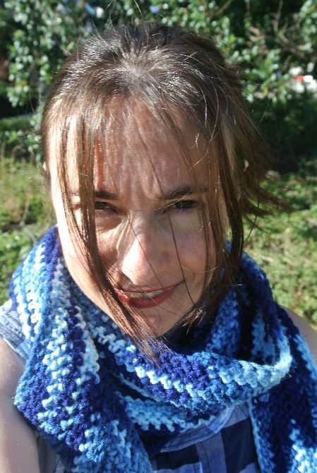 crochet scarf3 365 Ways to Wear Crochet: Stiff and Slim Scarf