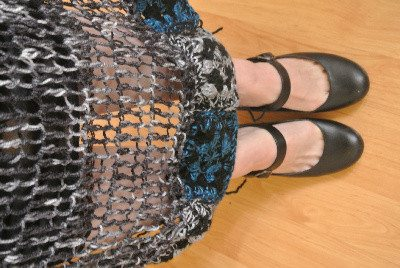 crochet shoes My Crochet: Turning Those Granny Squares Into a Scarf