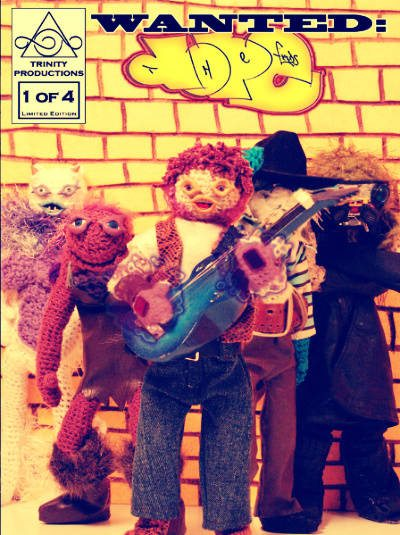 dope fiends amigurumi Amigurumi Comic Video Artist Andy Aguilar of the Dope Fiends