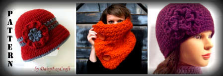 etsy crochet accessories
