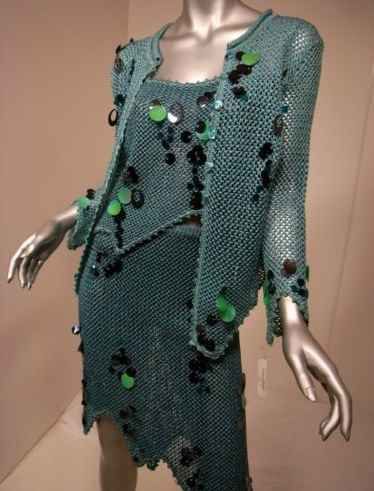 lacroix crochet dress Designer Crochet Project: Christian Lacroix