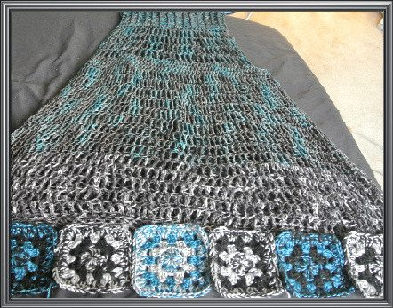 malabrigo sleeveless dress The Magic of Two Toned F Hook Granny Squares