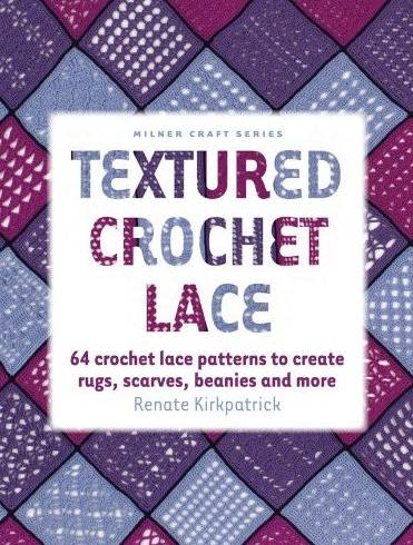 textured crochet lace book