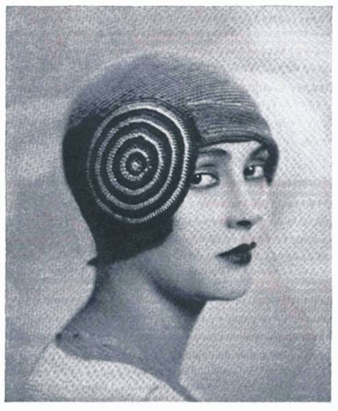 1920s crochet hat Oscar Nominated Crochet