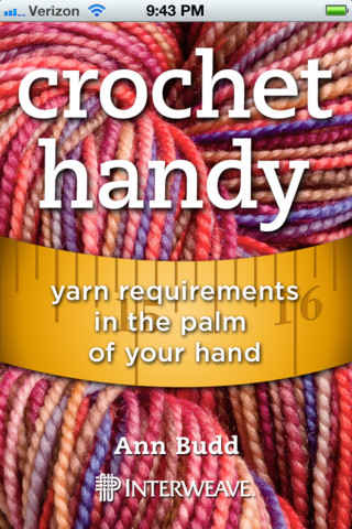 crochet app Crochet Handy, Interweaves New Yarn App