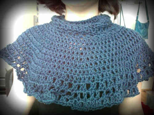 crochet capelet One Year Ago in Crochet 2/5   2/11