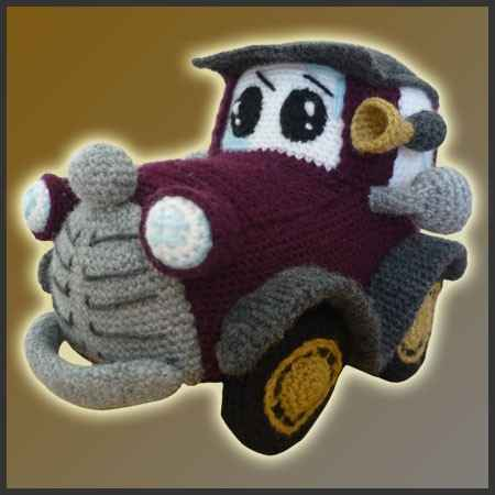 Post image for Etsy Crochet Pattern: Cute Little Classic Car