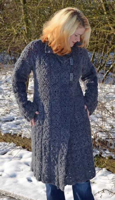 crochet coat Etsy Crochet Pattern: Crochet Coat