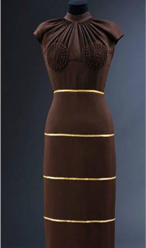 Haak detail jurk