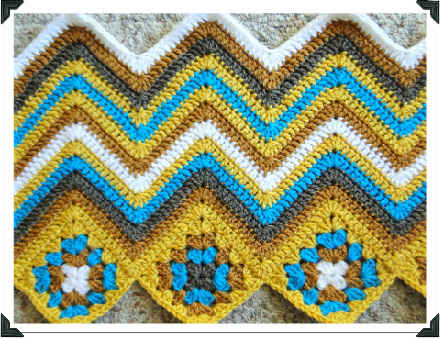 Crochet Inspiration 60 Chevrons Ripples Waves Patterns And