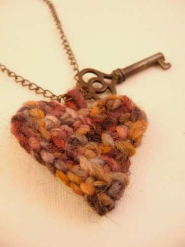 crochet heart key Oscar Nominated Crochet