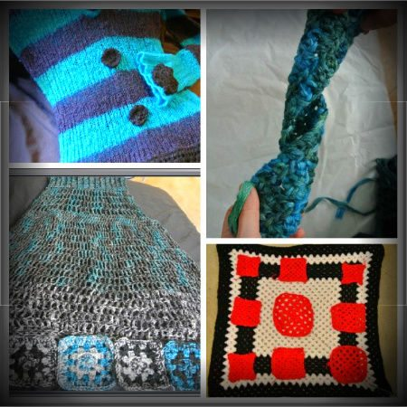crochet mosaic Crochet Blog Roundup: January 2012