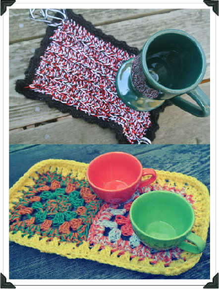 crochet mug rugs A Little of What Ive Crocheted Lately